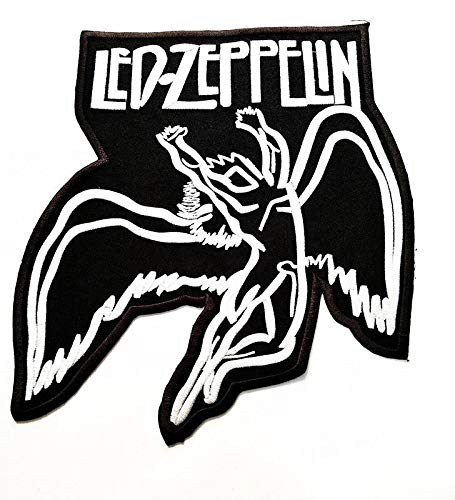 Big Jumbo LED ZEPPELIN Música Band Parche Logo Polo