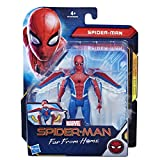 Hasbro Marvel Spider-Man- Far from Home Glider Gear Action Figure da 15 cm, con Ali a Acomparsa, Multicolore, E4120ES0