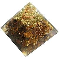 Tiger Eye Stein Pyramide Heilung Kristalle Reiki organite Pyramide Reiki Spritual Geschenk mit Rot Geschenk Tasche preisvergleich bei billige-tabletten.eu