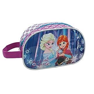 Disney Frozen Keep Calm Neceser de Viaje, 3.36 Litros, Color Azul