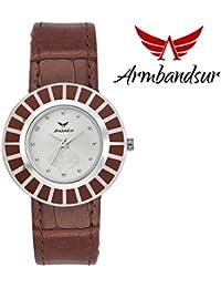 Armbandsur brown elegant watch for women-ABS0067GSB