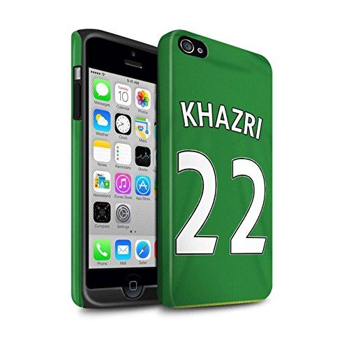 Offiziell Sunderland AFC Hülle / Matte Harten Stoßfest Case für Apple iPhone 4/4S / Pack 24pcs Muster / SAFC Trikot Away 15/16 Kollektion Khazri