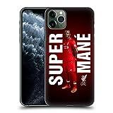 Head Case Designs Ufficiale Liverpool Football Club Sadio Mané Super 2018/19 Star Trio Cover Dura per Parte Posteriore Compatibile con iPhone 11 PRO Max