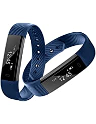 Smart Armband Point Touch Pushman YG3 Bluetooth Anruf Remind Remote Self-Timer Smart Band Kalorienzähler Wireless Pedometer Sport Schlaf Monitor Aktivität Tracker Für Android iOS Telefon, Einzelpackung