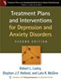 Treatment Plans and Interventions for Depression and Anxiety Disorders (Treatment Plans and Interventions for Evidence Based Psychotherapy)