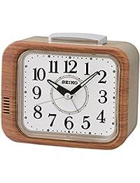 Seiko QHK046B -  Reloj Despertador , Marrón claro