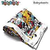 TuddyBuddy: Bedding Sheet Cum Top Sheets For Baby And Adults   Dohar For Kids   Dohar Single Cotton   Baby Bed Sheet   Dohars Single Bed . Swaddle Blanket, AC Blanket, New Born Baby Carry Bag, Baby Wrapper, Quick Dry Swaddle Wrap. Mickey &Minie!   100