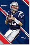 NEW ENGLAND PATRIOTS Tom Brady Poster Drucken (60,96 x 91,44 cm)