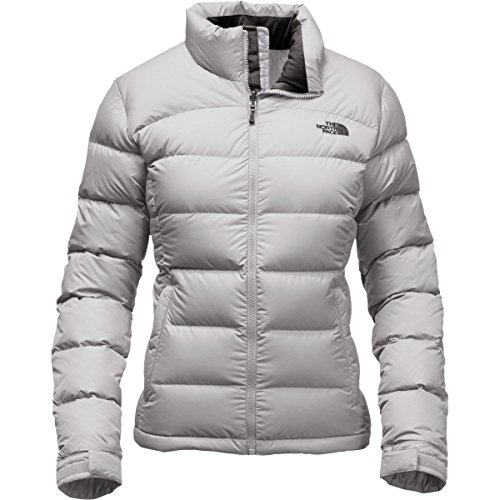 The North Face Women's Nuptse 2 Jacket Lunar Ice Grey Size Small (North Face Womens Nuptse Jacket)