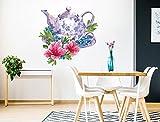 I-love-Wandtattoo WAS-12710 Florales Aquarell Wandtattoo