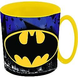 Stor, 85505, Taza Microondas Batman symbol 350 ml. libre de bpa