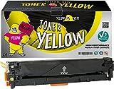 Yellow Yeti Gelb Premium Toner kompatibel für HP Laserjet Pro 200 MFP M276nw M276n M251nw M251n CP1525n CP1525nw CM1415fn CM1415fnw CM1312 CM1312nf CM1312nfi CP1215 CP1217 CP1514n CP1515n CP1518ni