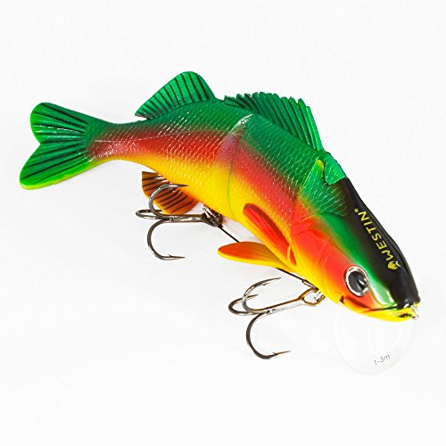 WestinPercy the Perch Real Swimbait Low Floating Parrot Special 20
