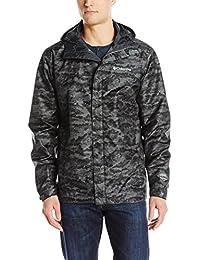 Columbia Men's Watertight Printed Jacket, Shark Camo, Large