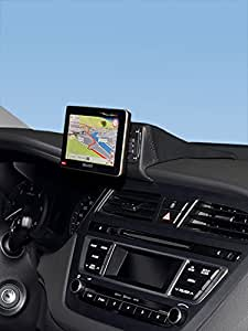 KUDA console di navigazione (LHD) per Hyundai i20dal 2014in vera pelle NERO