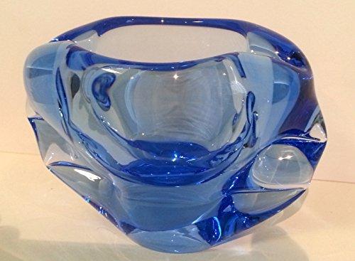 decorative-bowl-blue-transparent-ash-tray-modern-design-width-15-cm