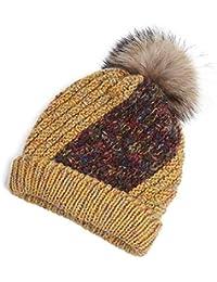 e2cddf69c6c Echarpe ZR Automne Hiver Chapeau Épais Chapeau Chaud Tricoté À La Main  Chapeau Protection des Oreilles
