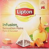 Lipton Infusion Sensation Poire Caramel 20 Sachets 44 g
