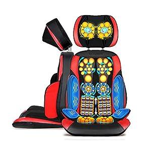 Amdm Massagesitzauflage Nursal Rckenmassage Shiatsu Massage Sitzkissen Mit Hitzefunktion Tiefe Knetmassage Selbstmassage