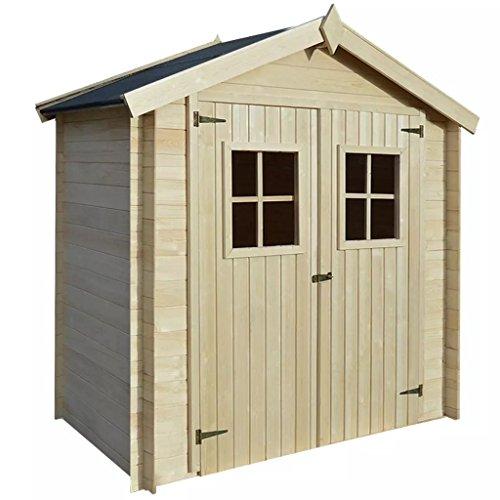 Festnight Gartenhaus aus Holz, für den Garten, 2x1m, 19mm