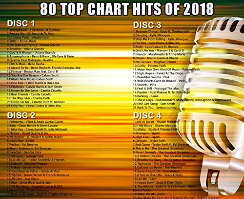 Karaoke 2017 Chart Hits CD-CD + G Disc Set – 80 Songs auf 4 Discs Einschließlich der besten Ever Karaoke Tracks aller Zeiten (Adele, Taylor Swift, Ed Sheeran und vieles mehr) - 3