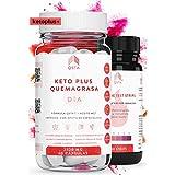 Keto Plus Quemagrasas DIA 2-EN-1 (Paso 2), Quemagrasas potente para adelgazar, Pastillas para adelgazar muy rapido, Quema grasas QSTA Medical, Dieta Cetogenica Fat Burner, 2520MG +MEDICOS