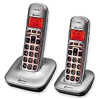 Amplicomms Big Tel 1202 Cordless Telephone + Additional Handset
