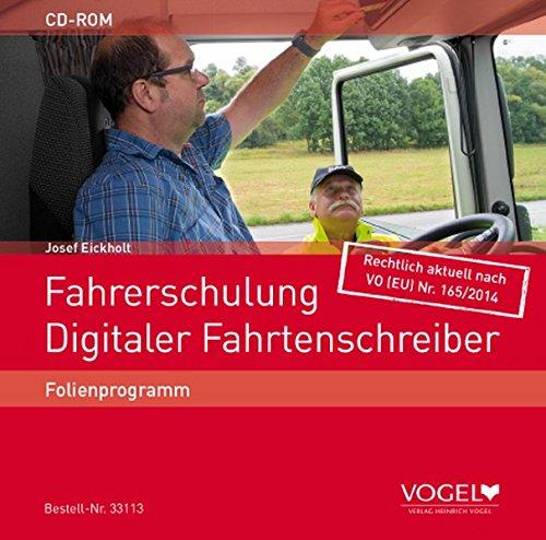 Fahrerschulung Digitaler Fahrtenschreiber: Folienprogramm
