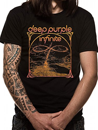 Deep Purple Multi Camiseta Negro XXL