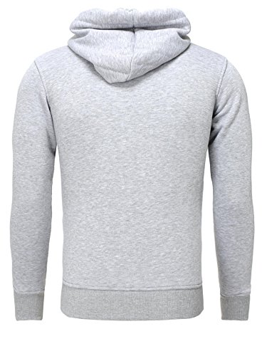 Akito Tanaka Sweatshirt Herren Pullover Sweat Shirt Männer Hoodie Kapuze grau/rot/blau