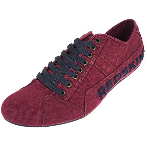 Redskins - Tempo bordeaux canvas - Chaussures basses toile Bordeaux