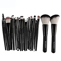 22pcs Professional Makeup Brush Set Eye Shadow Brushes Sets for Make Up Eyeshadow Face Foundation Powder Gril Concealers Eyeliner Revolution Shadows Cosmetic Blusher by Walaha