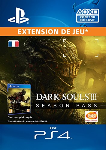 Dark Souls 3 Season Pass [Extension de Jeu] [Code Jeu PSN PS4 - Compte français]