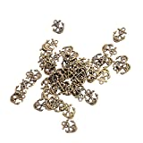 Sharplace 50er Schiff Anker DIY Charm-Anhänger Schmuck DIY Perlen Handwerk Bronze