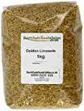 Buy Whole Foods Golden Linseeds 1 Kg