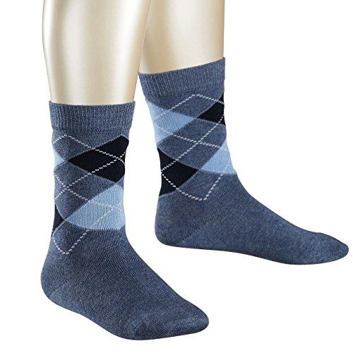 Preisvergleich Produktbild Falke Children Casual Socken Classic Argyle 6er Pack, Größe:19-22;Farbe:Light Denim (6660)