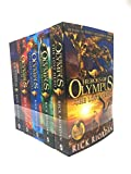 Heroes of Olympus Complete Collection 5 Books Set -The Lost Hero/The Son of Neptune/The Mark of Athena/The Blood of Olympus by Rick Riordan (2015-06-07)