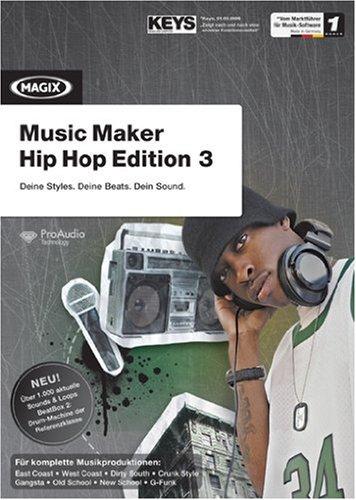 MAGIX Music Maker Hip Hop Edition 3 - Minibox