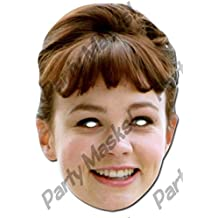 Carey Mulligan Celebrity Cardboard Mask - Single (máscara/ careta)