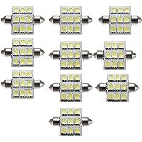 Culater® 10pcs 31 Millimetri 12 LED SMD Festone Della Lampada