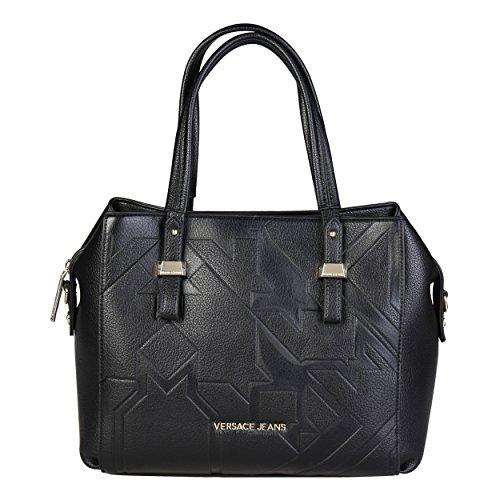 Versace Leder Jeans (Versace Jeans E1VQBBZ6_75473 Damen Handtaschen Leder Schwarz)