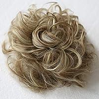 PRETTYSHOP Postizo Coletero Peinado alto, VOLUMINOSO, rizado, Moño descuidado mezcla rubia marrón #