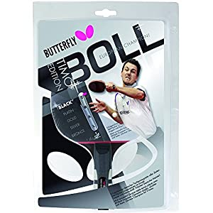 Butterfly Timo Boll Table Tennis Bat - Black Review 2018 from Butterfly