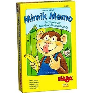 HABA- Juego de Mesa, Memo Mímica, (Habermass H304243)