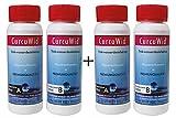 2 x Natriumchlorit 25% + Salzsäure 4% Set 2x100ml zum Mega-Preis! In HDPE Flaschen mit Tropfer.