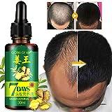 Sérum de croissance des Cheveux à l'huile de Germinal de Gingembre,Traitement de...