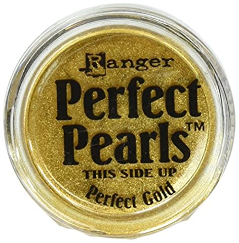 Perfect Pearls Ranger Industries Pigment Powder, Perfect Gold