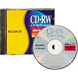 Sony CD-RW High Speed Rewritable Disc (One-Pack)