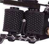 ZTATO Cast 10 Laps Coils Tattoo Machine Liner Shader Gun HB-WGG001 Black