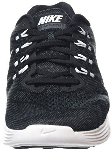 Nike Lunar Tempo 2, Chaussures Multisport Outdoor Homme Noir (002 Black)